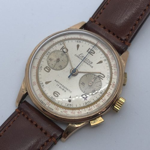 Exactus vintage chronograph